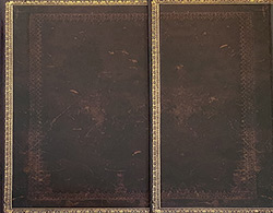 Buy a Paperblanks Black Moroccan ~ Guest Book ~ 144 Unlined Pages with Clasp from Joseph's Journals at House of Greco